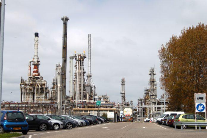 Raffinaderij in Antwerpen