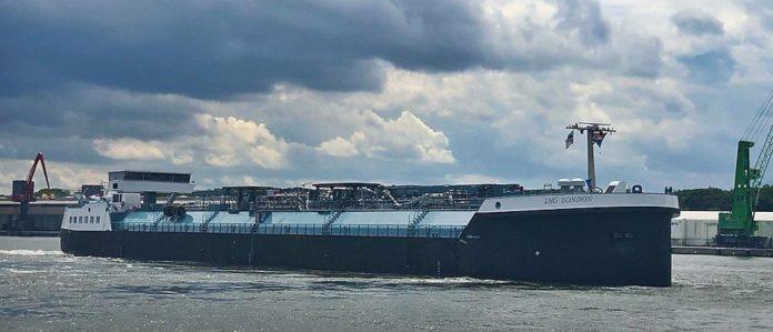 LNG-bunkerbinnenvaartschip