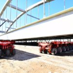 Nieuwe spoorbrug